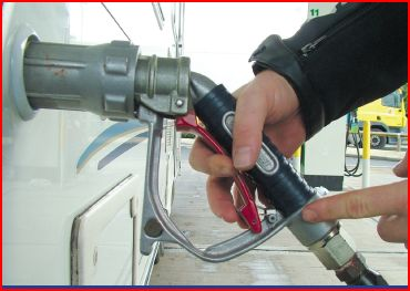 Kit une bouteille gpl reservoir rechargeable gaslow base 27l - Recharge camping gaz ...
