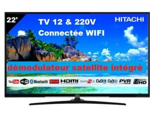 TV 22' HITACHI SMART  CONNECTE