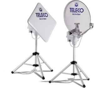 Antenne automatique TELECO Activsat 65cm smart sur trépied