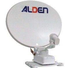 kit Antenne auto satellite ALDEN ONELIGHT 65 DECODEUR TNT