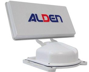 kit Antenne auto satellite ALDEN planar DECODEUR TNT