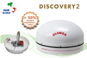 antenne satellite glomex DISCOVERY 2
