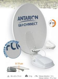 "Antenne satellite automatique ANTARION G6+ 72 cm ""connect"" MICROPERFOREE seule"