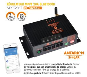 REGULATEUR DE CHARGE MPPT >20A BLUETOOTH